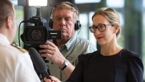 Interviewtraining vor der Kamera