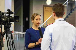Medientraining und Kameratraining mit Nicola Peters